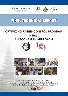 Optimizing Rabies Control Program in Bali An Ecohealth Approach 2011–2013