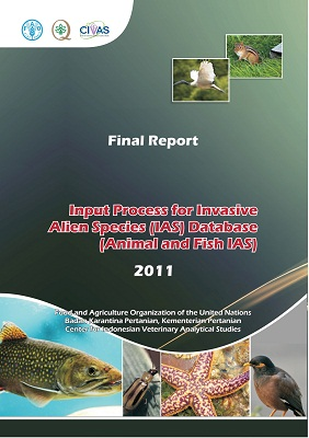 Input Process for Invasive Alien Species (IAS) Database (Animal and Fish IAS) 2011