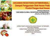 Ancaman Resistensi Antimikrobial Dampak Penggunaan Obat Hewan pada Produk Pangan Asal Hewan