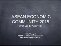 Asean Economic Community 2015 What Can be Achieved