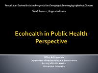 EcoHealth in Public Health Prespective_Wiku Adisasmito UI