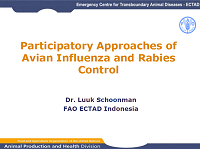 Luuk Schonman_FAO_Participatory Approaches of Avian Influenza and Rabies Control