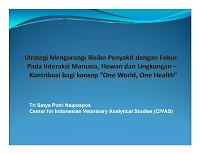 Strategi Mengurangi Risiko Penyakit - Dr. Tri Satya Putri Naipospos